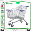 Galvanized Steel Supermarket Shopping Cart Trolley