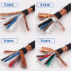 Bare Copper Couductor Al-Foil Braid Single Double Shield Cable Wire