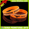 Debossed Color Filled Rubber Bracelet for Custom Promotion (TH-band030)