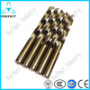 Tin Coating HSS M42 Milled Twist Drill Bits for Metal