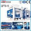 Qt9-15 Automatic Hydraulic Concrete Hollow Block Making Machine/Paver Block Making Machine in Africa