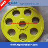 Olympic 7 Grips Rubber Coated Weight Plates for Barbell