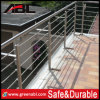 Stainless Steel Staircase Rod Railing Project (DD120)