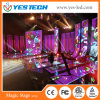 China Full Color Super Slim Flexible LED Video Curtain Display