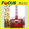 Single/Double Cage 1000kg/2000kg Construction Lift/Construction Hoist/Construction Elevator for Passenger/Material Hoist