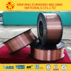 Er70s-6 Copper Coated Welding Wire with High Depositing Efficiency