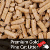 Clumping Pine Cat Litter, Cat Litter Mat, No Bentonite Cat Litter