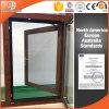Popular Quality Thermal Break Aluminum Tilt & Turn Window 3D Red Oak Wood Grain Finishing Wood Color
