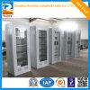 Upper Glass Lower Steel Metal Cabinet
