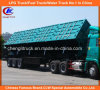 Heavy Duty Tri-Axle 50ton Side Tipper Truck Trailer for Mineral Transportation