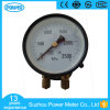100mm Double Pointer Double Pipe Pressure Gauge for Railway