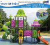 Flower Feature Slide Amusement Park Playground Hf-12601