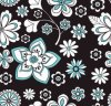 Small Flower Printing 600d Fabric for Bags!