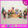 2015 Small Wooden Nutcracker Toy, Professinal Cheap Toy Nutcracker, Wooden Soldier Nutcracker for Christmas Decoration W02A047