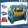Colorful Steel Tile Cold Roll Forming Machine From China