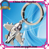 3D Metal Key Chain with Air Plane Key Ring Gift
