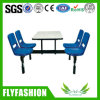 Fast Food Restuarant Four Persons Dining Table (SF-94)