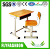Hot Sale New Design Single Student Desk and Chair (SF-04S)