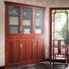 Chinese Style Built- in Solid Wood Book Cabinet (SG01460)