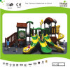 Kaiqi Medium Sized Forest Themed Children′s Playground with Lots of Slides (KQ20099A)