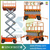 8m 10m Self Driven Scissor Man Lift