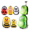Kid′s Trolley Roller Bag 3D Cartoon Characters Rolling Suitcase Hard Wheeled Luggage Case