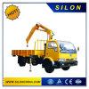 Tecelopic Boom Truck Crane Lorry Crane 3ton Truck Mounted Crane