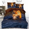 Custom Sheets for Bed 100%Polyester Microfiber Printing 3D Hot Selling Bedding Set