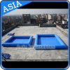 Customized PVC Inflatable Pool with Blue Color for Sale