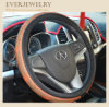 Bling Bling Lady Car Steering Wheel Cover with Rhinestone