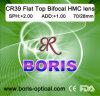 Cr39 1.499 Flat Top Bifocal Hmc 70/28mm Optical Lens