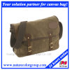 Mens Funtional Waxed Canvas Travel Messenger Bag for Trips