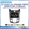 Touch Screen Car DVD Player for KIA Cerato/Shuma/Forte with GPS Navigation