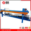 PLC Program Control Automatic Filter Press with Belt Conveyor