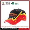 100% Cotton Racing Cap with 3D Embroidery Logo