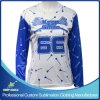 Custom Sublimation Lacrosse Long Sleeve Sporting T Shirt