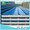 High Quality Light Weight Steel Color Corrugated EPS Sandwich Panel for Workshop