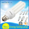 Factory Wholesale 2u/3u/4u Energy Saving Lamp / T3/T4/T5 Full Half Spiral Tube LED Energy Saving Light Bulb/ Lotus Lighting CFL