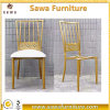 Modern Gold Throne Royal Napoleon Metal Chairs for Wedding
