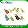Waterproof USB Stick Flash Memory Violin Jewelry USB Flash Drive