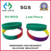 Laser Engraved Serial Number Silicone Wristband
