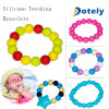 Silicone Teething Bracelet for Baby Chewing