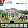 White Aluminum and PVC Luxury Wedding Tents with Solid Sidewalls for 500 People Capacity Weddings and Parties