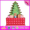 2016 Wholesale Wooden Christmas Advent Calendar, Funny Wooden Christmas Advent Calendar, Wood Christmas Advent Calendar W02A173