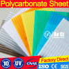 Policarbonato Alveolar Lexan 100% Fresh Bayer or Ge Free Sample Sabic Polycarbonate Hollow Sheet