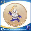 Gold Plated Coin with Sanded Effect (ele-coin-002)