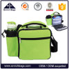 Portable Handy Insulated Lunch Cooler Bag with Can Holder