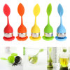 Silicone Tea Infuser/Strainer, Wholesale Popular Novelty Fancy Custom Tea Filter/Bag