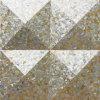 Yellow Lip Mop Shell Irregular Triangle Mosaic
