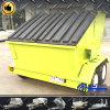 6 Cubic Meter Mobile Skip Trash Trailer